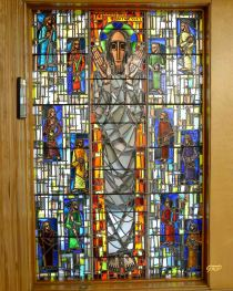 """Ye Shall Be Witnesses"" - First Baptist Church Memorial Chapel. Gerald E. Tooke artist, 1959"