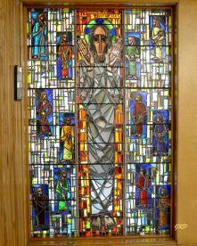 """Ye Shall Be Witnesses"" - First Baptist Church Memorial Chapel. Gerald E. Tooke artist, 1959"